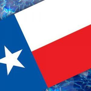 Drop-In Texas Flag Pool Mat Pool Mosaics