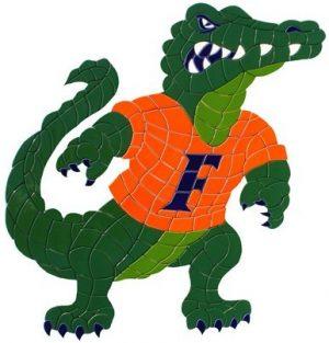 University of Florida Gators Mascot (Albert) Pool Mosaics
