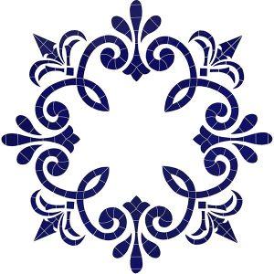 Empress Medallion Pool Mosaics