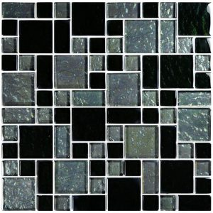 Slate Mixed (Galaxy Series) Glass Pool Tile