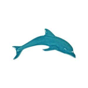 Mini Dolphin Pool Mosaics