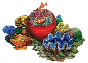 Coral Reef B Pool Mosaics