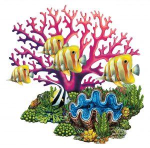 Coral Reef Pool Mosaics
