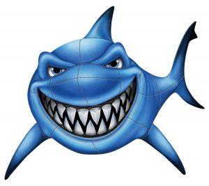 Gotcha Shark Pool Mosaics
