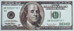 100 Dollar Bill Pool Mosaics