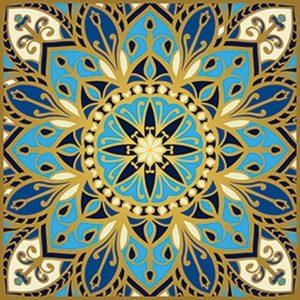 Cosmic Bliss Non-Skid Step Marker Pool Mosaics