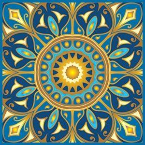 Joyful Soul Non-Skid Step Marker Pool Mosaics