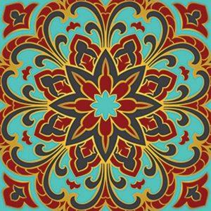 Radiant Beauty Non-Skid Step Marker Pool Mosaics
