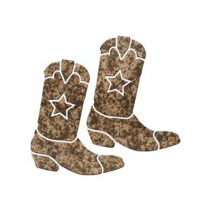 Cowboy Boots (Pair) Pool Mosaics