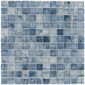Angelica 1″ x 1″ (Aurora Series) Glass Pool Tile