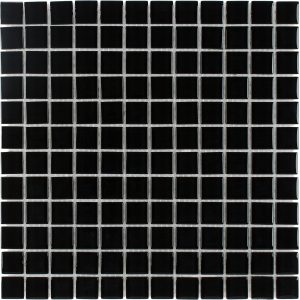 Nero 1″ x 1″ (Architectural Colors Series) Glass Pool Tile