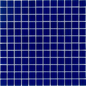 Cobalt 1″ x 1″ (Architectural Colors Series) Glass Pool Tile