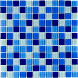 Cielo 1″ x 1″ (Architectural Colors Series) Glass Pool Tile