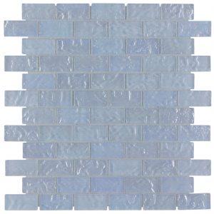 Crystal 1″ x 2″ (Volcanic Series) Glass Pool Tile