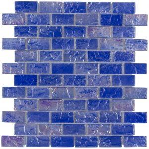 Azul 1″ x 2″ (Volcanic Series) Glass Pool Tile
