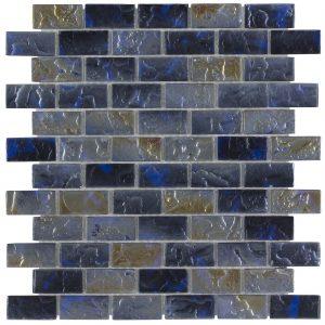 Basalt 1″ x 2″ (Volcanic Series) Glass Pool Tile