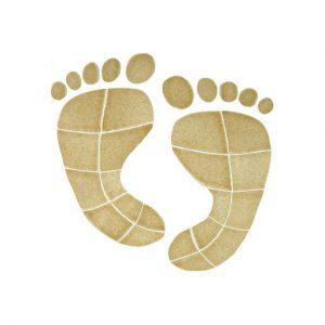 Footprints Pool Mosaics