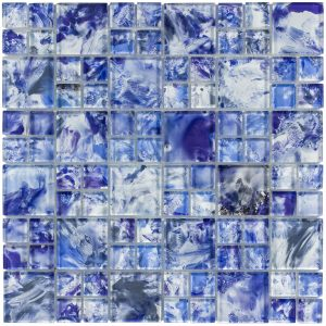 Sky Mixed (Michelangelo Series) Glass Pool Tile