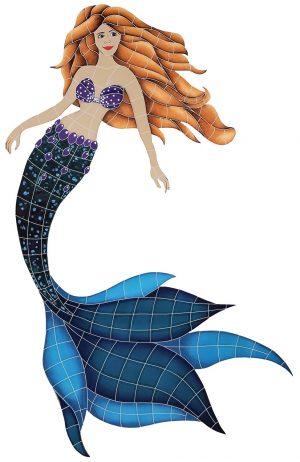 Mermaid Pool Mosaics