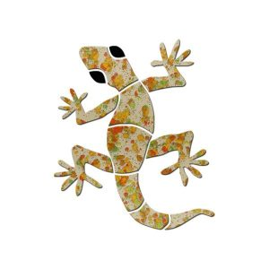 Small Gecko Pool Mosaics