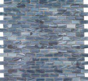 Sapphire 1/2″ x 1″ (Aurora Series) Glass Pool Tile