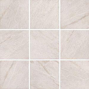 Bianco 6″ x 6″ (Stonequartz Series) Porcelain Pool Tile