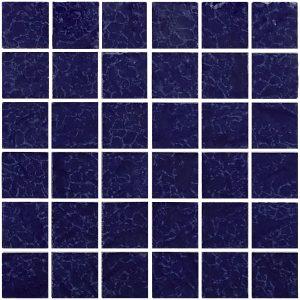 Cobalt 2″ x 2″ (Fusion Series) Porcelain Pool Tile