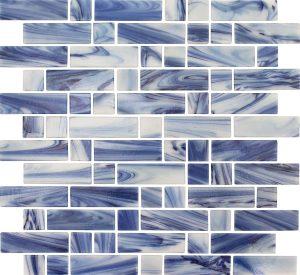 Flores Mixed (Dash Series) Glass Pool Tile