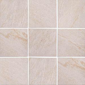 Beige 6″ x 6″ (Stonequartz Series) Porcelain Pool Tile
