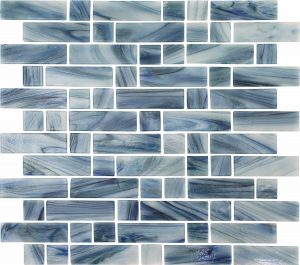 Scotia Mixed (Dash Series) Glass Pool Tile
