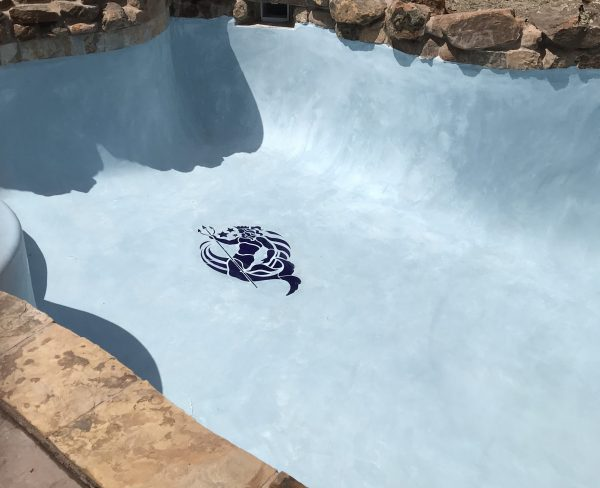 Blue Neptune Pool Mosaics