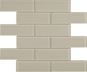 Earth 2″ x 6″ (Element Series) Glass Pool Tile