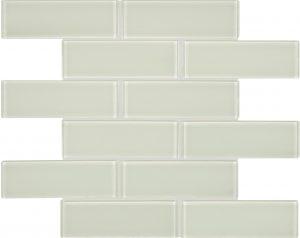 Sand 2″ x 6″ (Element Series) Glass Pool Tile