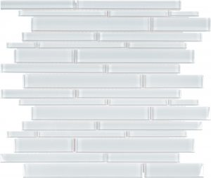 Ice Linear (Element Series) Glass Pool Tile