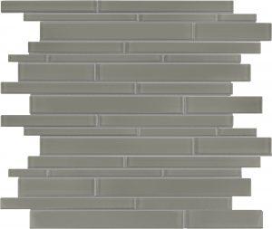 Smoke Linear (Element Series) Glass Pool Tile
