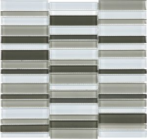 Mineral Blend 1.4″ x 6″ (Element Series) Glass Pool Tile