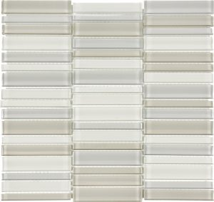 Natural Blend 1.4″ x 6″ (Element Series) Glass Pool Tile
