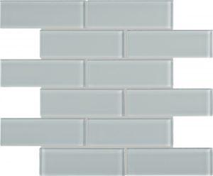 Cloud 2″ x 6″ (Element Series) Glass Pool Tile