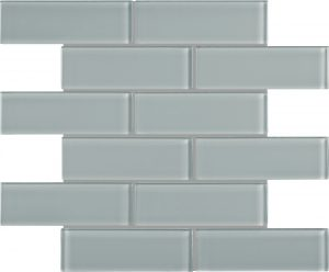 Shadow 2″ x 6″ (Element Series) Glass Pool Tile