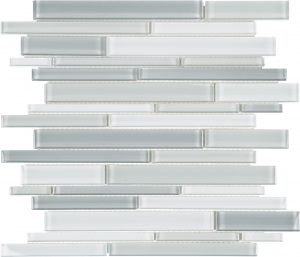Shades of Grey Linear (Element Series) Glass Pool Tile