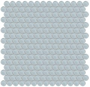 Skylight Penny Round (Element Series) Glass Pool Tile