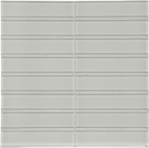 Mist 1.5″ x 6″ Stacked (Element Series) Glass Pool Tile