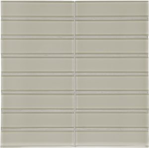 Earth 1.5″ x 6″ Stacked (Element Series) Glass Pool Tile