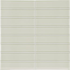 Sand 1.5″ x 6″ Stacked (Element Series) Glass Pool Tile