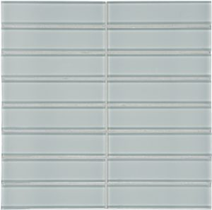 Cloud 1.5″ x 6″ Stacked (Element Series) Glass Pool Tile