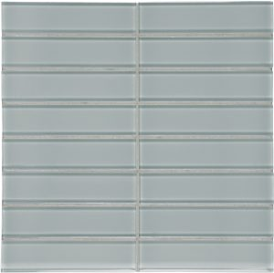 Shadow 1.5″ x 6″ Stacked (Element Series) Glass Pool Tile