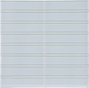 Skylight 1.5″ x 6″ Stacked (Element Series) Glass Pool Tile