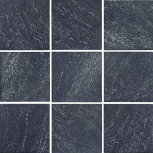 Nero 6″ x 6″ (Stonequartz Series) Porcelain Pool Tile