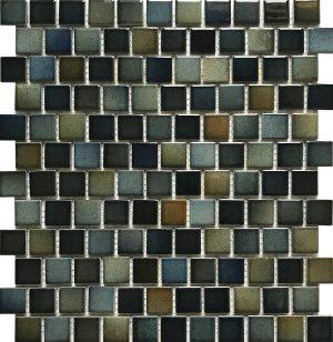 Dark 1″ x 1″ (Sea Breeze Series) Porcelain Pool Tile