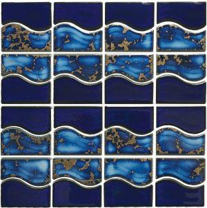 Terra Mosaic (Waterside Series) Porcelain Pool Tile